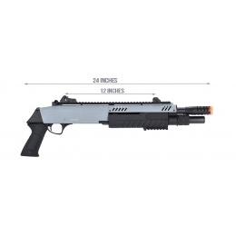 Bo Manufacture FABARM STF/12 Short Barrel Shotgun  - GRAY / BLACK