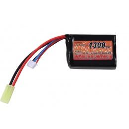 VB Power High Performance 11.1v 1300 mAh 20C / 40 LiPo Brick Battery