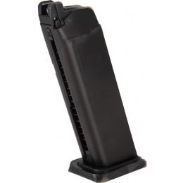 WE Tech GP1799 T1 Gas Blowback Airsoft Pistol - BLACK / SILVER BARREL