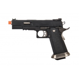 WE-Tech Hi-Capa 5.1 T-Rex Full Auto Gas Blowback Competition Pistol (Black)