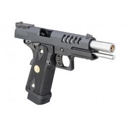 WE Tech Hi-Capa 5.1 Hyper Speed Airsoft Full Auto Gas Blowback Pistol w/ Threaded Barrel