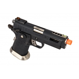 WE-Tech Hi-Capa 3.8 Velociraptor Full Auto Gas Blowback Pistol (Black)