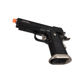 WE-Tech Hi-Capa 3.8 Brontosaurus Full Auto Gas Blowback Pistol (Black)