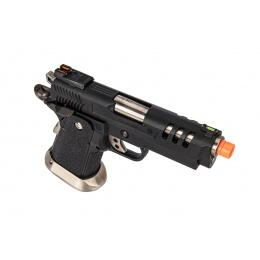 WE-Tech Hi-Capa 3.8 Deinonychus Gas Full Auto Blowback Pistol (Black)