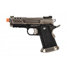 WE-Tech Hi-Capa 3.8 Deinonychus Full Auto Gas Blowback Pistol (Silver)