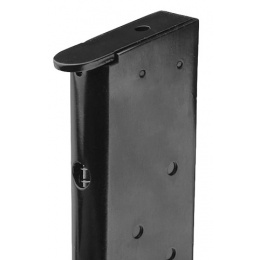 WE M1911 MEU Single Stack 15rd Airsoft Gas Blowback Magazine - BLACK