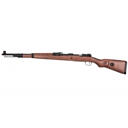 Double Bell WWII Kar 98k Bolt Action Gas Airsoft Rifle - WOOD