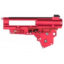 Lancer Tactical CNC Version 3 Gearbox Shell for AK Series Airsoft AEGs - RED