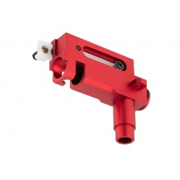 Lancer Tactical CNC Machined Aluminum Hop-Up Unit for AK Series Airsoft AEGs - RED