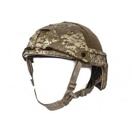 Lancer Tactical Airsoft Helmet Ballistic Type - DESERT DIGITAL - M/L