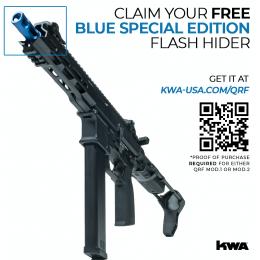 KWA AEG 2.5 QRF MOD.2 Airsoft AEG Rifle - BLACK