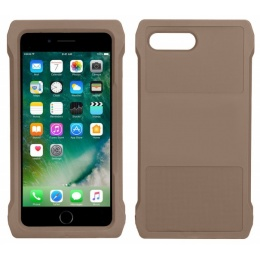 Lancer Tactical iPhone 7/8 Plus MOLLE Mobile Case - TAN