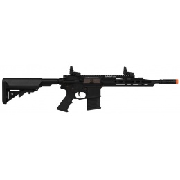 APS M4 Guardian Tactical Airsoft Electric Blowback AEG Rifle - BLACK