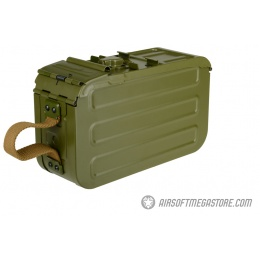 A&K Airsoft 5000rd Steel PKM HMG Automatic Winding Box Magazine