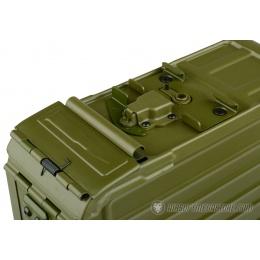 A&K Airsoft 5000rd Steel PKM HMG Automatic Winding Box Magazine