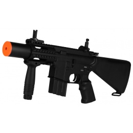 A&K M4 CQB Stubby Airsoft Full Metal AEG Rifle w/ Mock Suppressor