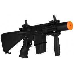 A&K M4 CQB Stubby Airsoft Full Metal AEG Rifle w/ Mock Suppressor