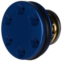 T&D Airsoft AEG CNC Machined Ported Ball Bearing Piston Head - BLUE