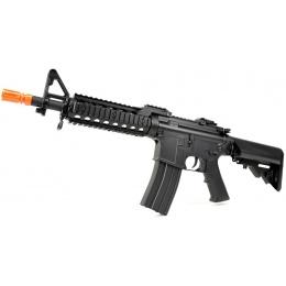 330 FPS CYMA M4 RAS II CQB CM205 LPEG AEG Airsoft Rifle - BLACK