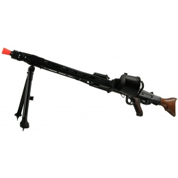 AGM Full Metal MG42 World War II Airsoft AEG Machine Gun - REAL WOOD