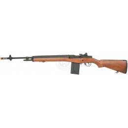 Lancer Tactical M14 Airsoft AEG Rifle - IMITATION WOOD