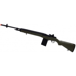 400 FPS VPower CYMA M14 CM032 Airsoft AEG Rifle - TEXTURED GREEN