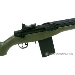 400 FPS VPower CYMA M14 CM032 Airsoft AEG Rifle - TEXTURED GREEN