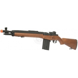 400 FPS CYMA M14 SOCOM VPower CM032A Airsoft AEG Rifle - FAUX WOOD