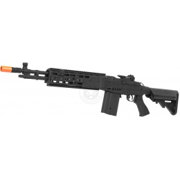 400 FPS CYMA M14 EBR VPower CM032EBR Airsoft AEG Rifle - BLACK