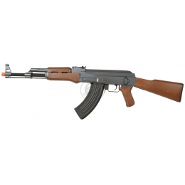 400 FPS CYMA AK47 VPower CM028 Airsoft AEG Rifle - IMITATION WOOD