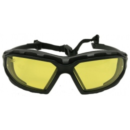 Valken V-TAC Echo Airsoft Goggles - ANSI Z87.1 Rated - YELLOW