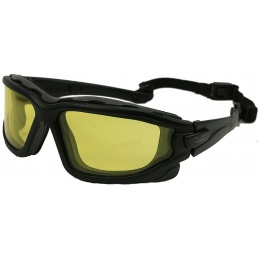 Valken V-TAC Zulu Airsoft Goggles - ANSI Z87.1 Rated - YELLOW