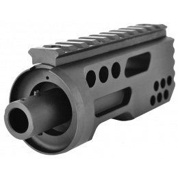 Golden Eagle M4/M16 Meat Tenderizer Airsoft Flash Hider - BLACK