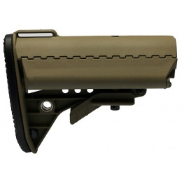T&D Airsoft Improved M4 Style Crane Stock - TAN
