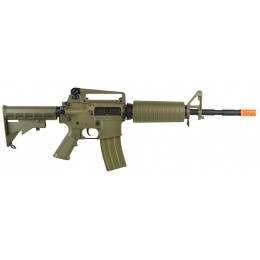 DBoys M4A1 Carbine Full Metal Gearbox Polymer Airsoft AEG Rifle - TAN