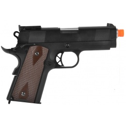 WE Tech Full Metal M1911 3.8 Compact Gas Blowback Airsoft Pistol