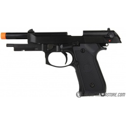 WE Tech Full Metal M9A1 GBB Gas Blowback Airsoft Pistol - BLACK