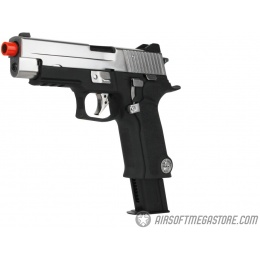 WE-Tech Limited Edition F226 P-VIRUS Airsoft GBB Pistol w/ LED Case