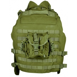 AMA 600D MOLLE Interceptor Body Armor OTV Plate Carrier - OD GREEN