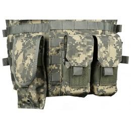 AMA 600D MOLLE Interceptor Body Armor OTV Plate Carrier - ACU