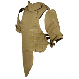 Airsoft Megastore Armory 600D Interceptor Body Armor - Child - TAN