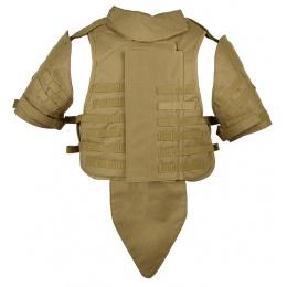 Airsoft Megastore Armory 600D Interceptor Body Armor - Child - TAN