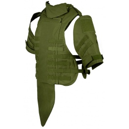 Airsoft Megastore Armory 600D Interceptor Body Armor - Child - OD GREEN