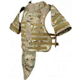 Airsoft Megastore Armory 600D Interceptor Body Armor - Child - LAND CAMO