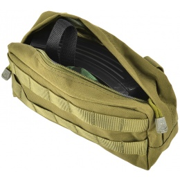 Airsoft Megastore Armory 600D MOLLE Large Utility Pouch - OD GREEN
