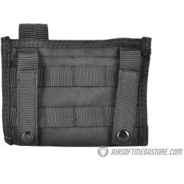 AMA 600D Tactical MOLLE Admin Panel w/ Pistol Magazine Pouch - BLACK