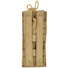 Airsoft Megastore Armory 600D MOLLE Large Tactical Radio Pouch - TAN