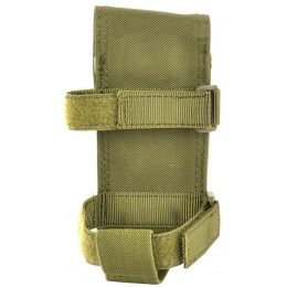 AMA 600D M4/M16 Single Rifle Buttstock Magazine Battery Pouch - OD