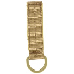 Airsoft Megastore Armory Tactical MOLLE D-Ring MOD Strap - TAN