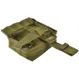 Airsoft Megastore Armory 600D MOLLE Drop Leg Utility Mag Pouch - OD